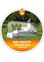 Button PM model 008 Hrad Jelšava