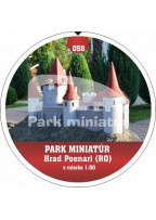 Button PM model 058 Hrad Poenari (RO) I