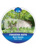 Button Hrady 185 Forgáčova bašta