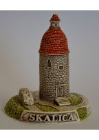 Model Rotunda sv. Juraja v Skalici